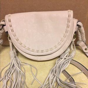 Merona crossbody bag cream colored